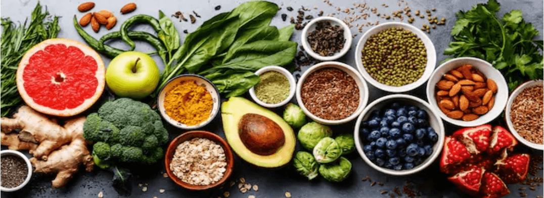 Top 10 foods
