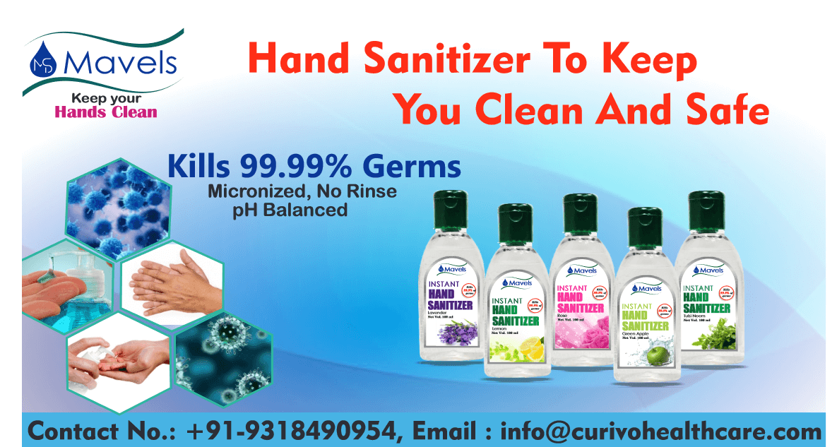 Hand Sanitizer to keep you Clean and safe