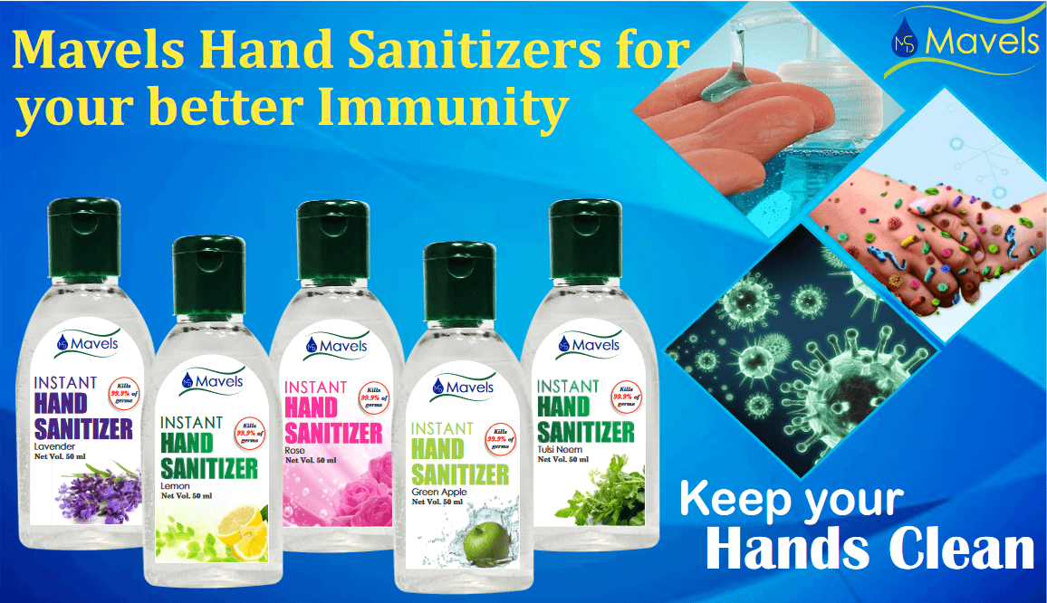 Hand Sanitizers for your better Immunity