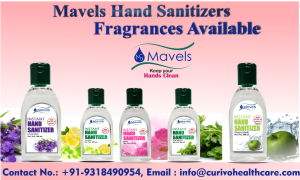 Mavels Hand Sanitizers fragrances available