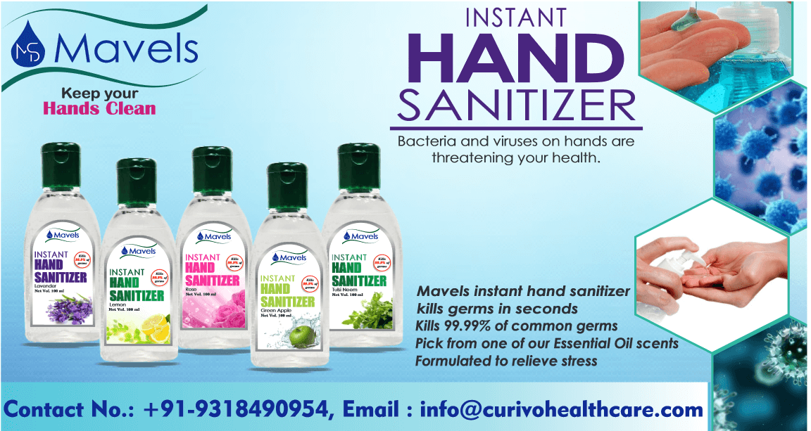 Mavels Hand Sanitizers