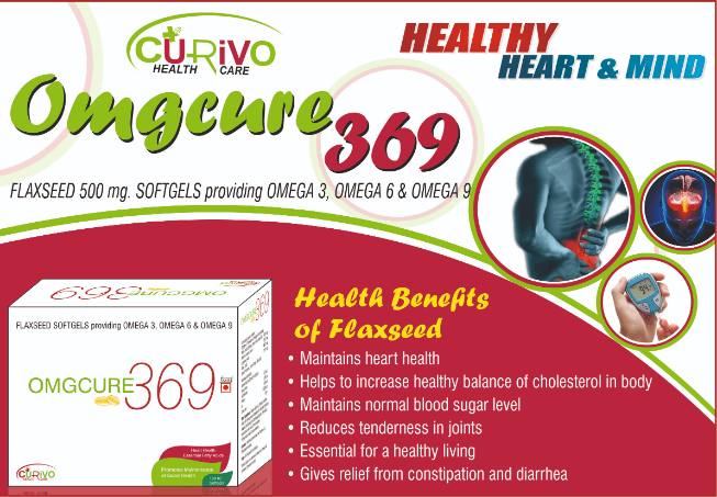 omgcure 369 softgel capsule,Omega 369 softgel capsPCD Pharma Franchise