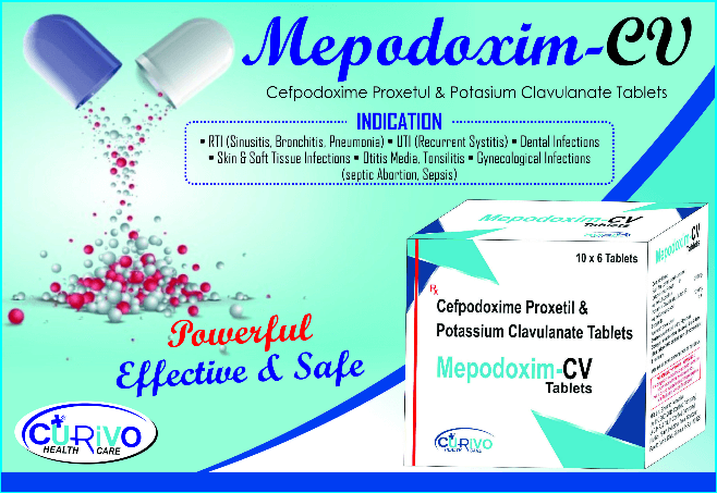 Mepodoxim tabletsPCD Pharma Franchise