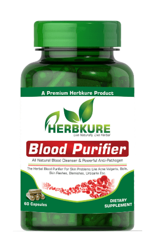HERBKURE BLOOD PURIFIER CAPSULEPCD Pharma Franchise